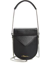 3.1 Phillip Lim - Mini Soleil Chain Strap Leather Shoulder Bag - - Lyst