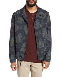 Vince - Tropical Regular Fit Coach's Jacket - Lyst