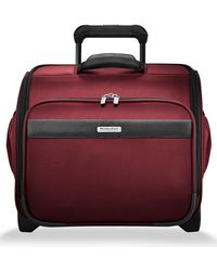 Briggs & Riley Transcend 400 16-inch Wheeled Cabin Bag - Red