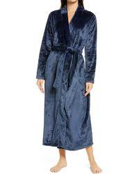 UGG UGG Marlow Double-face Fleece Robe - Gray