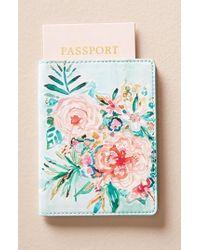 Anthropologie - Wild At Heart Passport Case - Lyst