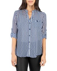 Kut From The Kloth Jasmine Top - Blue