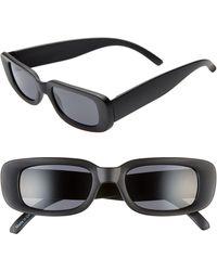 BP. 47mm Rectangle Sunglasses - Black