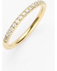 Bony Levy Stackable Large Straight Diamond Band Ring (nordstrom Exclusive) - Metallic