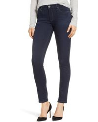 AG Jeans - 'the Prima' Mid Rise Cigarette Skinny Jeans - Lyst