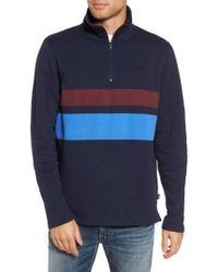 Wesc - Malte Fleece Quarter Zip Pullover - Lyst