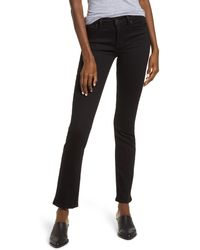 Hudson Jeans Straight Leg Jeans - Black