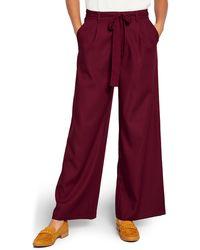 ModCloth The Savannah Wide Leg Pants - Red