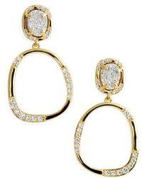 Melinda Maria | Luna Drop Earrings | Lyst