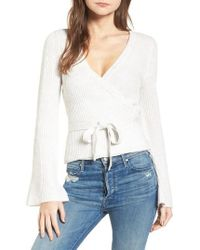 Cupcakes And Cashmere - Chavi Tie Waist Sweater - Lyst