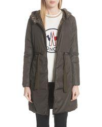 Moncler - Bruant Down Hooded Coat - Lyst