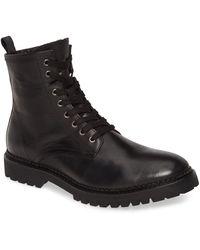 AllSaints Whitmore Moto Boot - Black
