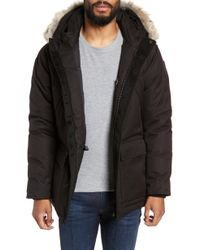 Nobis - Heritage Down Parka With Genuine Coyote Fur Trim - Lyst