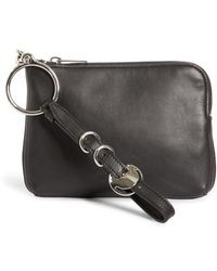 Alexander Wang - Small Ace Nappa Leather Wristlet - - Lyst