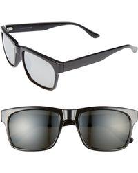 ae439991874 Lyst - Nordstrom 1901 Taylor 58mm Aviator Sunglasses in Gray for Men