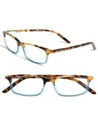 Kate Spade - Jodie 50mm Reading Glasses - Havana Teal - Lyst