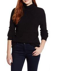 Caslon - Caslon Textured Turtleneck Sweater - Lyst