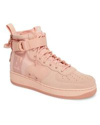 Nike Air Force 1 Special Field Mid Sneakers - Pink