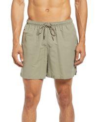 PUMA Mmq Earthbreak Drawstring Shorts - Green