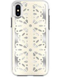 Rebecca Minkoff - Luxury Calls Laser Lace Iphone X & Xs Case - Lyst