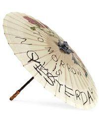 Gucci Para Rosee Paper Parasol - - Natural