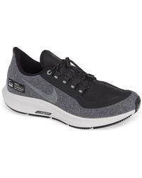 401e052957bab Nike - Air Zoom Pegasus 35 Shield Gs Water Repellent Running Shoe - Lyst