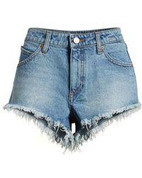 Volcom - Stoney Cutoff Denim Shorts - Lyst