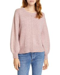 Joie Baydon Wool Blend Sweater - Pink
