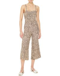 Faithfull The Brand - Elsa Leopard Print Jumpsuit - Lyst