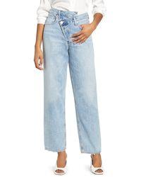 Agolde - Crisscross Upsize High Waist Jeans - Lyst