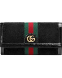 Gucci - Ophidia Continental Wallet - Lyst