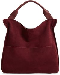 Sole Society Suede & Faux Leather Shoulder Bag - Multicolour