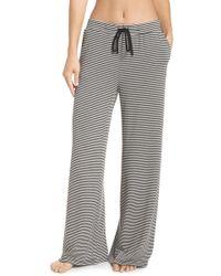 BB Dakota Dreams Wide Leg Pajama Pants - Black
