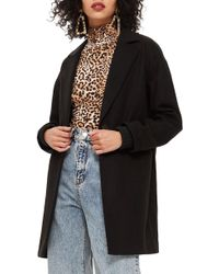 TOPSHOP - Slouch Coat - Lyst