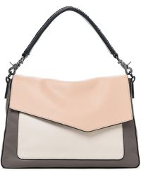 49b9d4cc9 Botkier - Cobble Hill Slouch Calfskin Leather Hobo - Coral - Lyst