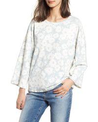 Sundry - Kimono Sweatshirt - Lyst