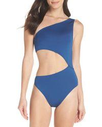 J.Crew | J.crew Playa Tilden One-shoulder One-piece Swimsuit | Lyst