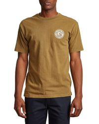 Brixton - Rival Ii Graphic T-shirt - Lyst