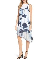 Kenneth Cole | Two Layer Dress | Lyst