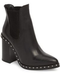 Charles David - Scandal Studded Chelsea Bootie - Lyst