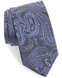 David Donahue   Paisley Silk Tie   Lyst