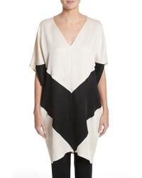 Zero + Maria Cornejo - Colorblock Dress - Lyst
