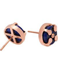 Congés - Protection & Awareness Lapis Lazuli Stud Earrings - Lyst