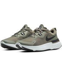 Nike React Miler Running Shoe - Black