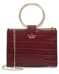 Kate Spade - White Rock Road - Mini Luxe Sam Leather Satchel - - Lyst