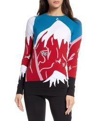 Sweaty Betty Betty Ski Base Layer Top - Red