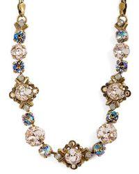 Sorrelli - Shielded Crystal Necklace - Lyst