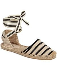 Soludos | Lace-up Espadrille Sandal | Lyst