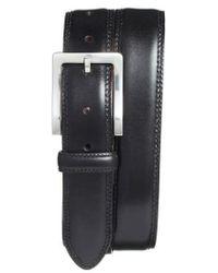 Bosca | Double Stitch Leather Belt | Lyst