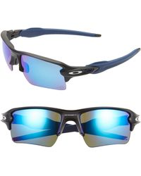 Oakley Nfl Flak 2.0 Xl 59mm Polarized Sunglasses - Indianapolis Colts - Blue